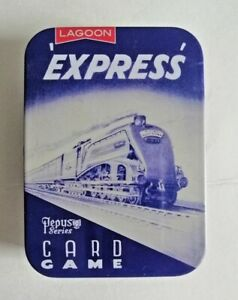 THE EXPRESS CARD GAME - A PEPYS CLASSIC FROM LAGOON GAMES - IN PRESENTATION TIN