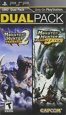 Monster Hunter Freedom 2 and Freedom Unite Dual Pack w/ Manual (PSP) (Very Good)