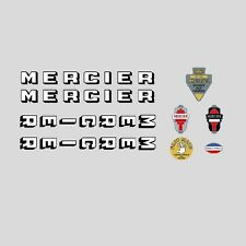 Mercier Bicycle Frame Stickers - Decals - Transfers n.11