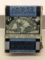 VINTAGE JOHN JAQUES COUNTRIES OF EMPIRE PLAYING CARDS GAME - RARE - VERY GOOD