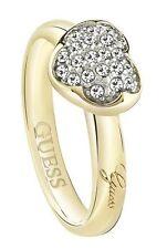 Modeschmuck-Ringe mit Kristall und Herz-Schliffform für Damen