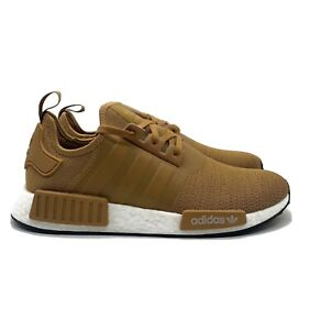 Adidas NMD R1 (Men's Size 13) Casual Running Shoe Beige White Tan Sneaker NEW