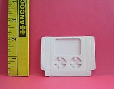 Miniature Re-Ment White Take-Out Food Box For Dolls 1/6 Scale Accessory Retired