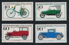 Berlin Motor Cars 4v MNH SG#B632-B635