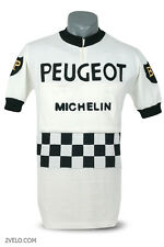 PEUGEOT BP vintage style wool jersey, new, maglia, maillot L