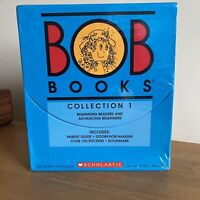 Bob Books Collection 1 Box Set Beginning Readers and Advancing Beginners Maslen