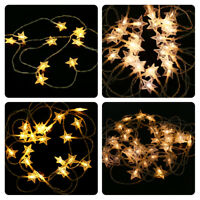 Jingle Jollys Christmas Lights String Fairy Decoration Star LED Outdoor Xmas AU
