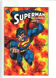 Superman/Doomsday: Hunter/Prey #1 NM- 9.2 DC Comics 1994 Dan Jurgens