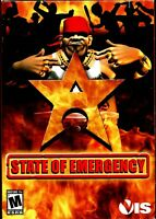 State of Emergency Pc New Boxed Fight For Your Country Super Destructive Weapons