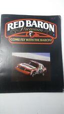 Rare NASCAR Media Press Release Kit Ken Schrader Red Barron Premium Pizza