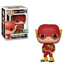 FUNKO POP VINILE BIG BANG teoria SDCC 2019 esclusivo Sheldon come flash-in mano!