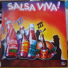 SALSA VIVA ! VARIOUS ARTISTS CHARANGA COLOMBIA PRESS LP CODISCOS 1987