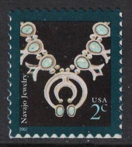 Scott 3753- 2c Navajo Necklace, American Design- MNH (S/A) 2007- unused mint
