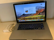 MacBook Pro (15-inch, Mid 2010), 320GB, 8GB DDR, i5 2.4 GHz A1286 High Sierra