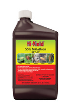 Hi-Yield 55% Malathion Insecticide 32 oz Japanese beetles aphids thrips mites