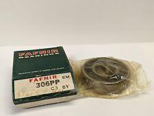Timkenfafnir 306pp Roller Bearing Both Sides Rubber Seal 30x72x19mm Nos