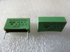 2 condensateurs 0,22uF 220nF 250V ERO MKT1822