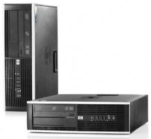 PC HP Compaq 8200 Elite Core i5 I5-2400 3.1 GHz 2 GO 160 GO DVDrw WIN 7 PRO