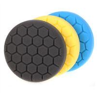 SPTA 3/4/5/6/7Inch Hex Honeycomb Buffing Pads Polishing Pads Car Polisher Pads