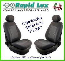 """Coppia fodere coprisedili anteriori Star per Toyota Yaris fantasia """"S65"""""""