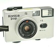 Rare Konica POP Million Seller LIMITED EDITION - Silver - Collectors Cap & Case