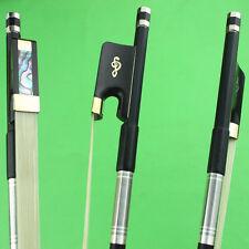 1pc New Superior 4/4 cello black Carbon fiber bow.cello accessories