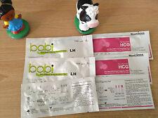 50 hCG 10 miu Early Pregnancy Test Strip Fast Ship from USA FDA Bluecross Babi