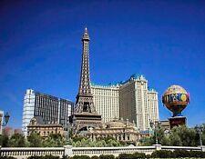 METAL REFRIGERATOR MAGNET Paris Hotel Casino Las Vegas Strip Nevada USA Travel