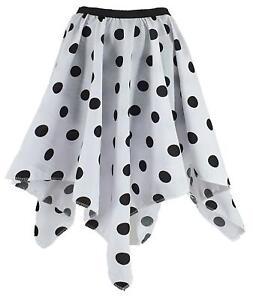 Cruella Deville Dalmation Spot Handkerchief Skirt Childs