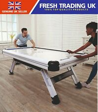 "MD Medal Sports 89"" 7.4FT x 4FT Air Powered Hockey Table - LED Electronic Scorer"
