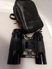 Vtg Minolta Pocket Folding Binoculars Jb35 8x24mm w/Case, 8.7 Deg, (Optics Hazy)