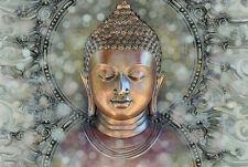 Original Schön Buddha Zen Meditation,ContemporaryYoga Karma Leinwand-druck