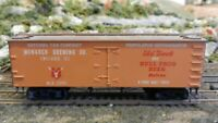 Roundhouse MDC Monarch Brewery Old Time 36' Billboard Reefer, Upgraded, Exc