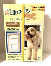 "Ideal Pet Products 6 5/8"" x 11 1/4"" Medium Ultra Flex Energy Save Dog Cat Door"