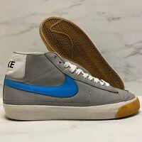 2003 Nike SB Blazer Mid Zoo York Grey / Orion Blue VTG Dunk Size 8.5 -306800 041