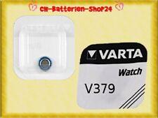 3 x Varta V379 SR521SW SR521 SR63 AG0 Silberoxid Knopfzelle Uhrenbatterie