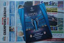 Off. programma UEFA FINALE CL 2016 Atletico Madrid-Real Madrid