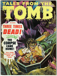 EERIE Publications TALES from the TOMB, Vol #1, #7 - Sept.1969 in VF Condition!