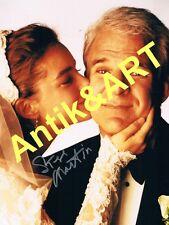 "Autogramm Foto  20x27cm Steve Martin  ( "" Hochzeit "" ) *handsigniert*"