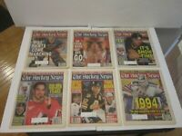 1995 Lot of 28 The Hockey News NHL Issues Gretzky Messier Ring  Jersey Cup