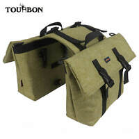 Tourbon Nylon Bike Double Pannier Commuter Messenger Shoulder Bag Special Offer