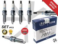 ix35 Details about  /OEM Parts Engine Ignition Spark Plug 18846-11070 4P for HYUNDAI Tucson ix