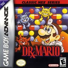 Dr. Mario Classic NES Series - Game Boy Advance GBA Game