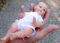 Ancien petit baigneur Petitcollin 25CM -Yeux de verre-Celluloïd-Années 30-poupée