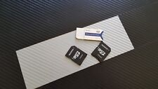 2 Adaptateur De Carte Micro SD + 1 Memory stick duo  -- Comme NEUF
