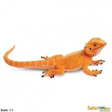 New BEARDED DRAGON reptile model toy lizard Extra large 21cm Safari Ltd