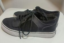 CREATIVE CREATION Mens Sneakers 3 UK 36 US 4 Leather Trainers Black White Laced