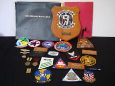 80s USN Aircrewman Career Collection Wings Medals Patches Pictures Clippings