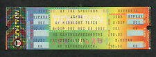 1981 AC/DC Unused Concert Ticket Philadelphia Spectrum For Those About To Rock