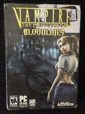 Vampire The Masquerade Bloodlines PC CD-ROM 2004 Activision